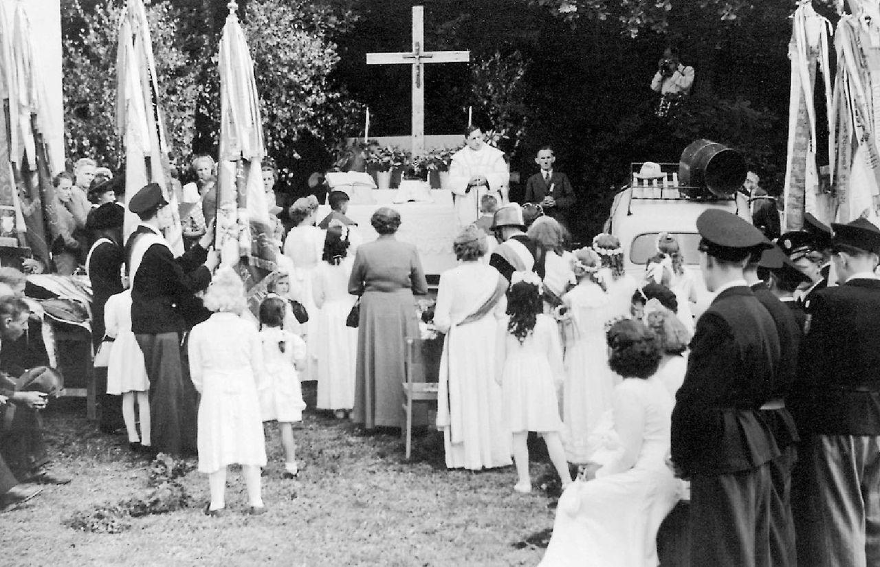 1952 Fahnenweihe 3