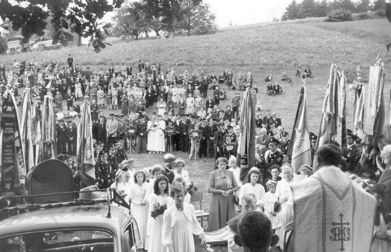1952 Fahnenweihe 4