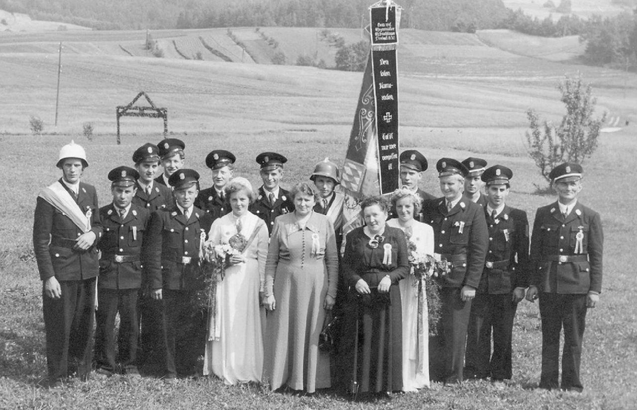 1952 Fahnenweihe 6